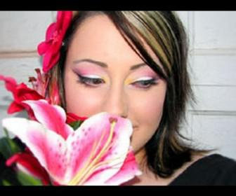 08 336x280 - Μακιγιαζ : Ροζ τόνοι με έμπνευση τον κρίνο