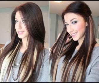 039 336x280 - Κάνε ανταύγες στα μαλλιά, χωρίς βαφή, με Extensions