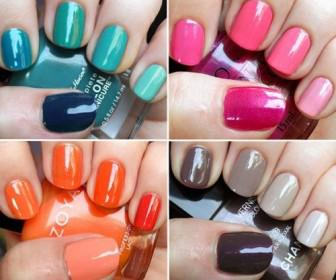 1 336x280 - How to DIY Ombre nail art - Νυχια μια ombre χρώμα