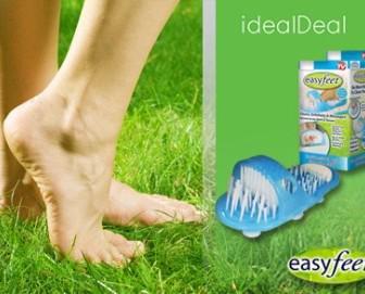 easy feet 1 336x271 - 9,9€ για μία παντόφλα Easy Feet που κολλάει στο πάτωμα του ντους ή της μπανιέρας