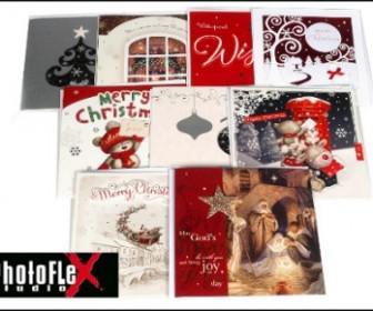 kartes 1 336x280 - 4,9€ για ένα σετ με 6 ανάγλυφες Χριστουγεννιάτικες κάρτες πολυτελείας και με δυνατότητα αποστολής στο χώρο σας