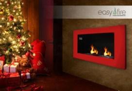 tzaki  -  309€ για ένα επιτοίχιο ενεργειακό τζάκι της εταιρείας Εasyfire με inox ή χρωματιστό πλαίσιο, υψηλής αισθητικής & απόδοσης, για Χριστουγεννιάτικη ατμόσφαιρα και οικονομία, αρχικής αξίας 540€.