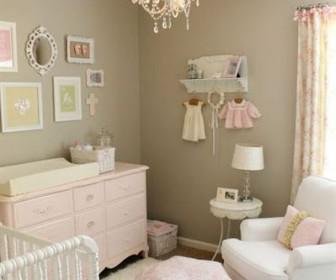 domatio morou koritsi 4 336x280 - Πώς να διακοσμήσετε το δωμάτιο του μωρού: κορίτσι