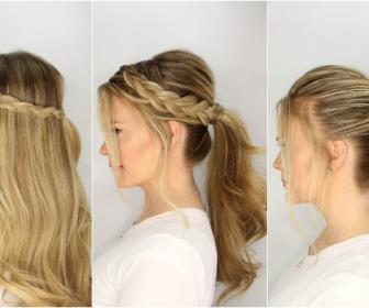 efkola xtenismata kalokairi 336x280 - 5 εύκολα χτενίσματα για μακριά μαλλιά