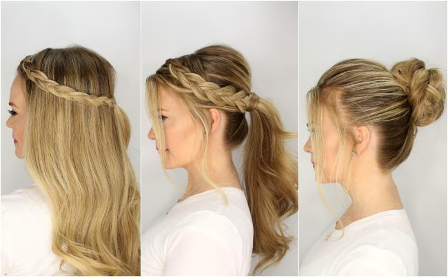efkola xtenismata kalokairi - 5 εύκολα χτενίσματα για μακριά μαλλιά