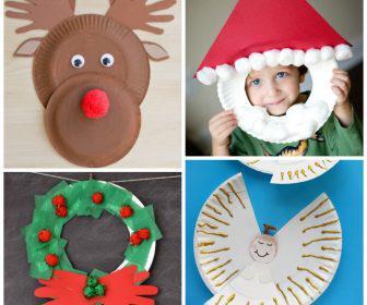 25 christougenniatikes kataskeves gia pedia chartina piata 5 336x280 - 25 Χριστουγεννιάτικες κατασκευές για παιδιά με χάρτινα πιάτα