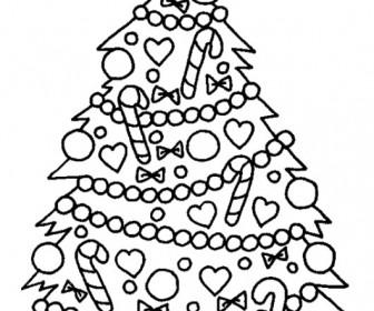 XMAS COLORING PAGES 5 336x280 - Χρωμοσελίδες με Χριστουγεννιάτικα δέντρα