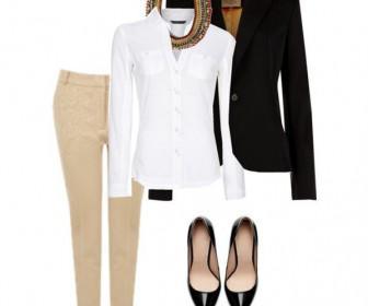 rouxa gia ti douleia 4 336x280 - Τι να φορέσω στην δουλειά - 5 ιδέες και λύσεις