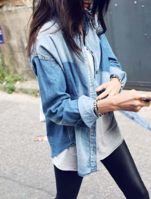Correct ways to wear leather leggings (6)