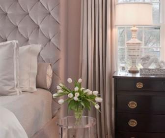 krevatokamara roz 3 336x280 - Χρώματα για κρεβατοκάμαρα ροζ και γκρι