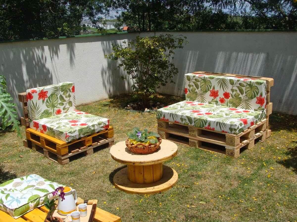 6 οικονομικά έπιπλα κήπου με παλέτες
